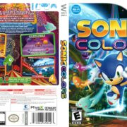 Sonic Colors (2006) Wii Cover