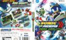 Sonic Riders Zero Gravity (2006) Wii Cover