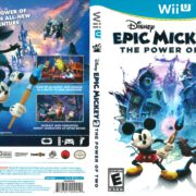 Epic Mickey 2: The Power of Two (2012) Wii U Cover
