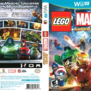 Lego Marvel Super Heroes (2013) Wii U Cover