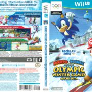 Mario and Sonic and the Sochi 2014 Olympic Winter Games (2013) Wii U Cover