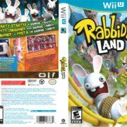 Rabbids Land (2012) Wii U Cover