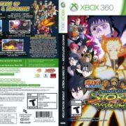 Naruto Shippuden: Ultimate Ninja Storm Revolution (2004) Xbox 360 Cover