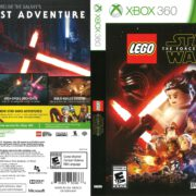 Lego Star Wars: The Force Awakens (2016) Xbox 360 Cover
