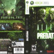 Aliens Vs Predator (2010) Xbox 360 Cover