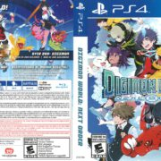 Digimon World: Next Order (2017) PS4 Cover