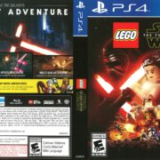 Lego Star Wars: The Force Awakens (2016) PS4 Cover