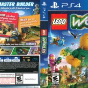 Lego Worlds (2017) PS4 Cover