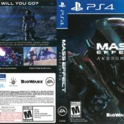 Mass Effect Andromeda (2017) PS4 Cover
