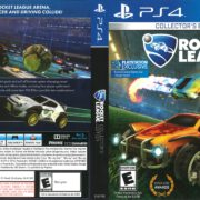 Rocket League (2016) PS4 Cover