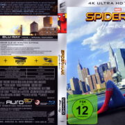 Spider-Man – Home Coming (2017) R2 German 4K UHD Cover & Label