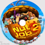 The Nut Jog 2 : Nutty by Nature (2017) R0 Custom DVD Label