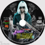 Atomic Blonde (2017) R0 Custom DVD Label