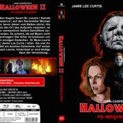 Halloween 2 – Das Grauen kehrt zurück (1981) R2 German Blu-Ray Cover