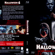 Halloween 4 – Michael Myers kehrt zurück (1988) R2 German Blu-Ray Covers