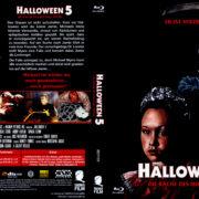 Halloween 5 - Die Rache des Michael Myers (1989) R2 German Blu-Ray Covers