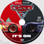 Cars 3 (2017) R0 Custom DVD Label