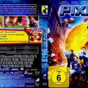 Pixels (2015) R2 German Blu-Ray Cover