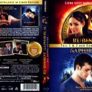 Rubinrot & Saphirblau (2013 & 2014) R2 German Blu-Ray Covers