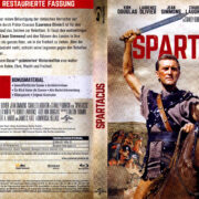 Spartacus (1960) R2 German Blu-Ray Covers