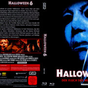 Halloween 6 – Der Fluch des Michael Myers (1995) R2 German Blu-Ray Covers