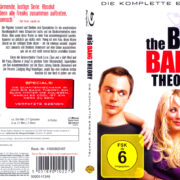 The Big Bang Theory (2007) R2 German Blu-Ray Cover