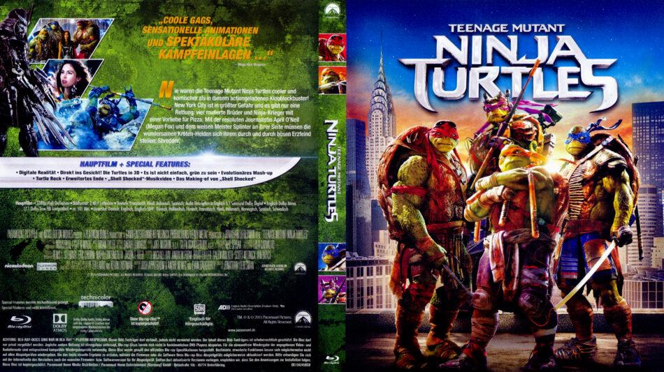 Teenage Mutant Ninja Turtles 2014 R2 German Blu Ray Covers Dvdcover Com