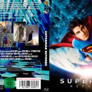 Superman Returns (2006) R2 German Blu-Ray Cover