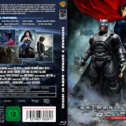 Batman v Superman: Dawn of Justice (2016) R2 German Blu-Ray Cover