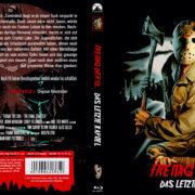Freitag, der 13. Teil 4 – Das letzte Kapitel (1984) R2 German Blu-Ray Cover