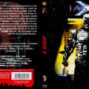 Jason X (2001) R2 German Blu-Ray Cover