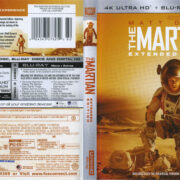 The Martian (Extended Edition) (2017) R1 4K UHD Cover & Labels