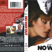 No Way Out (1987) R1 Blu-Ray Cover & Label