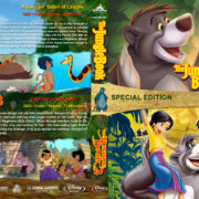 The Jungle Book Double Feature (1967-2003) R1 Custom Blu-Ray Cover