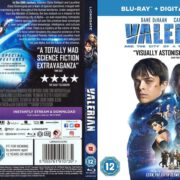 Valerian and the City of a Thousand Planets (2017) R2 Custom Blu-Ray Cover