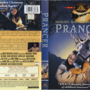Prancer (1989) R1 DVD Cover & Label