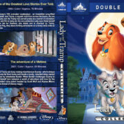 Lady and the Tramp Collection (1955-2001) R1 Custom Blu-Ray Cover
