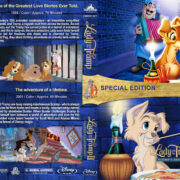 Lady and the Tramp Double Feature (1955-2001) R1 Custom Blu-Ray Cover