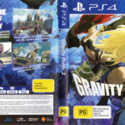 Gravity Rush 2 (2017) PAL PS4 Cover