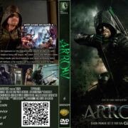 Arrow: season 6 (2017) R0 Custom DVD Cover