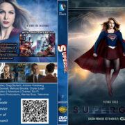 Supergirl: Season 3 (2017) R0 Custom DVD Cover