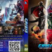DC Series: Crisis on Earth-X (2017) R0 Custom DVD Covers