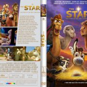 The Star (2017) R1 CUSTOM DVD Cover & Label