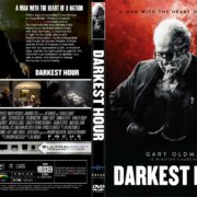 Darkest Hour (2017) R2 CUSTOM DVD Cover & Label