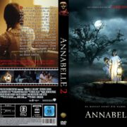 Annabelle 2 (2017) R2 GERMAN Custom DVD Cover
