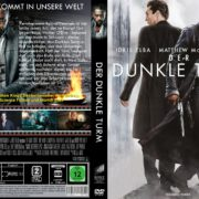 Der Dunkle Turm (2017) R2 GERMAN Custom DVD Cover
