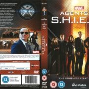 Agents of S.H.I.E.L.D Season 1 (2014) R1 DVD Covers