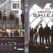 Agents of S.H.I.E.L.D Season 3 (2016) R1 DVD Cover