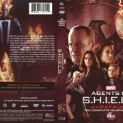 Agents of S.H.I.E.L.D Season 4 (2017) R1 DVD Covers