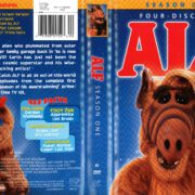 ALF Season 1 (1986) R1 DVD Cover